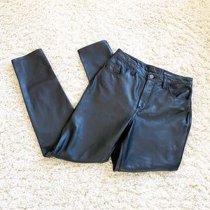 Blank NYC sheep leather jeans RETAIL $398